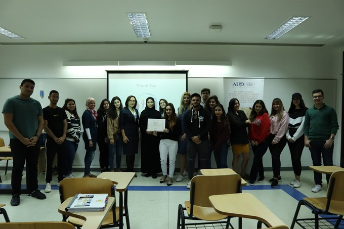DEPARTMENT OF MARKETING AND MARKETING COMMUNICATIONS NURGUL VATANSEVER VISIT TO MKTG 471 CLASS
