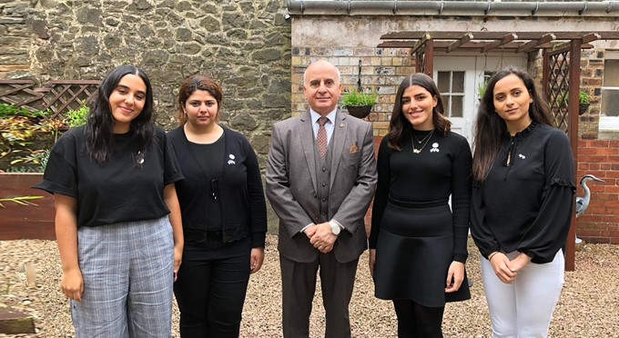 AUD Students Attend Al Maktoum College Summer School in Scotland