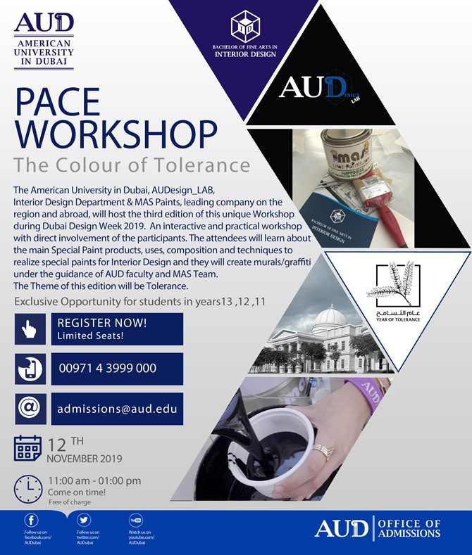 Upcoming PACE Workshop- The Color of Tolerance
